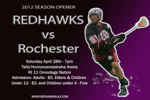 HOME OPENER SATURDAY