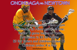 Onondaga to Host Newtown