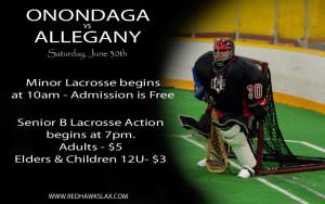 Onondaga hosts Allegany