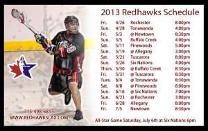 2013 Schedule Announced