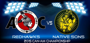 Redhawks vs Native Sons series schedule