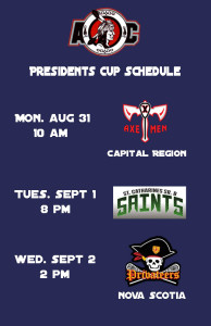 Redhawks Presidents Schedule Announced