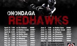 Redhawks 2016 Schedule